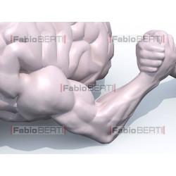 cervello braccio di ferro