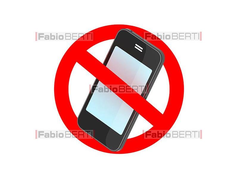 divieto di smartphone