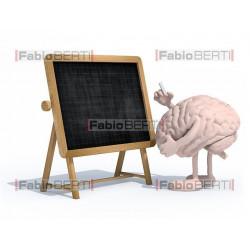 cervello lavagna