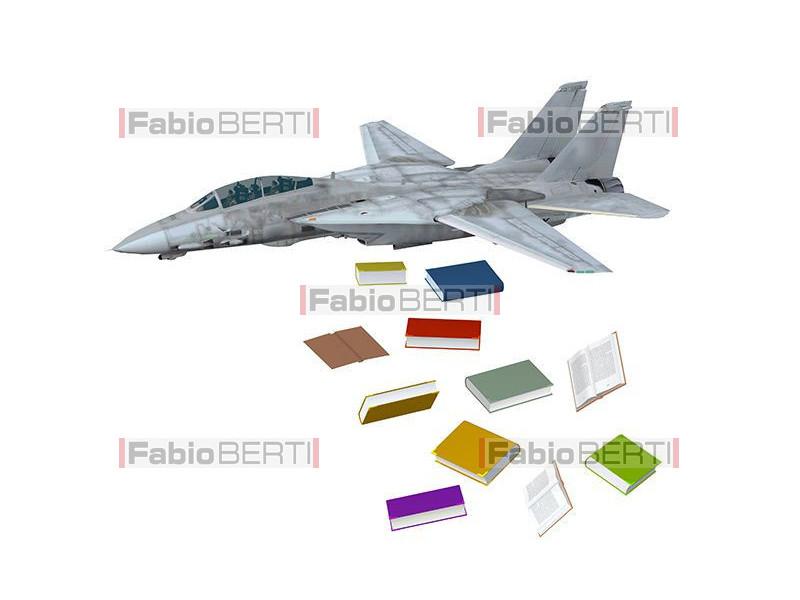 aereo lancia libri