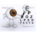 eye with lens