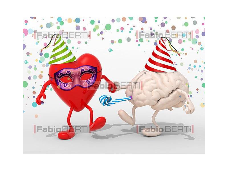 cervello cuore party