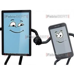 notebook, tablet e smartphone