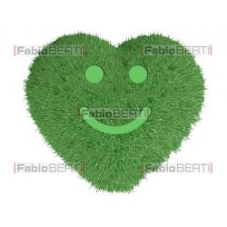 cuore verde smile