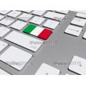 keyboard with Italian flag