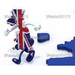 Inghilterra che scappa