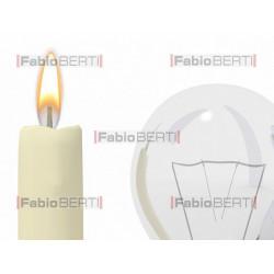 candela e lampadine