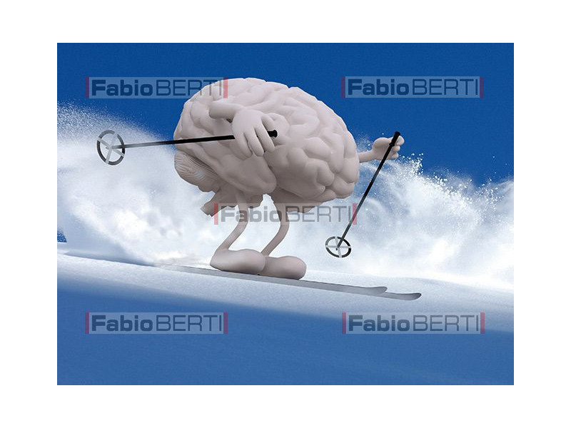 Human brain surfer