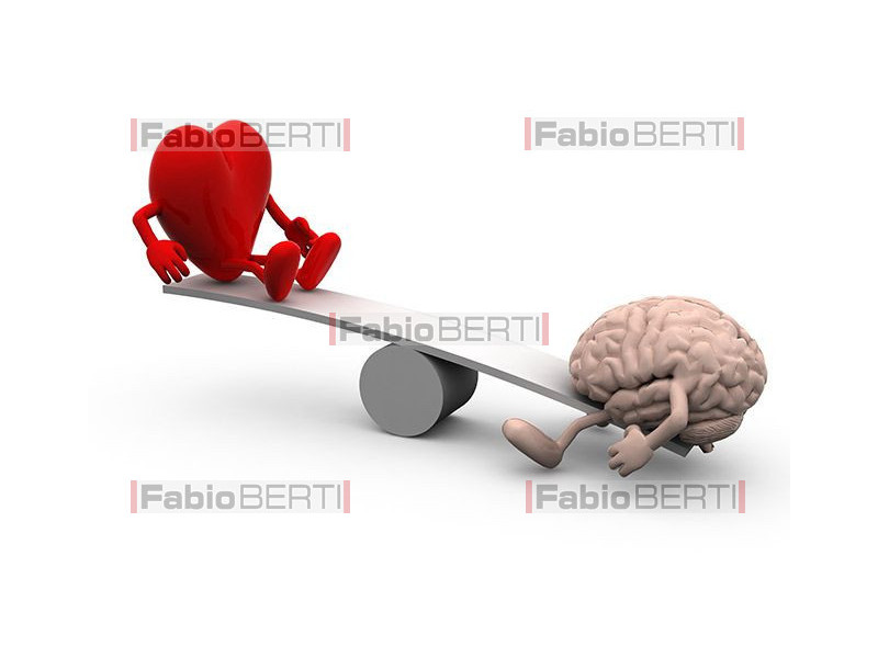 heart and brain tug of war