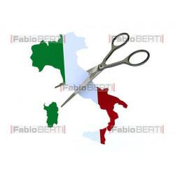 italia tagliata