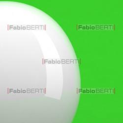 lampadina bianca su verde