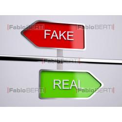 cartelli fake real