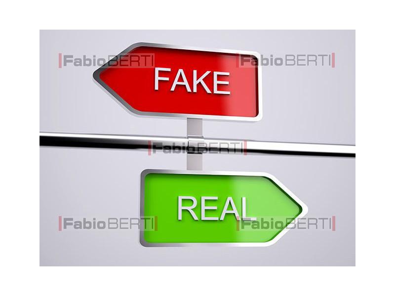 fake and real signs