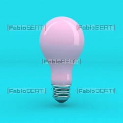 bulb pink on cyan