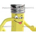yellow pencil cartoon