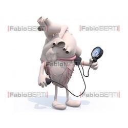 cuore pressione