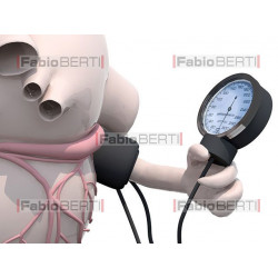 heart measuring pressure