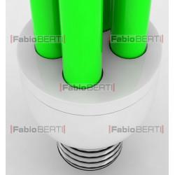 low-energy fluorescent light bulb