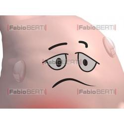 an aching stomach