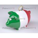Italy money piggy box