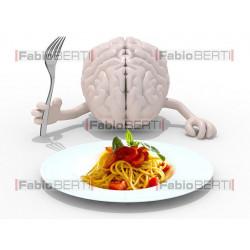 cervello e spaghetti