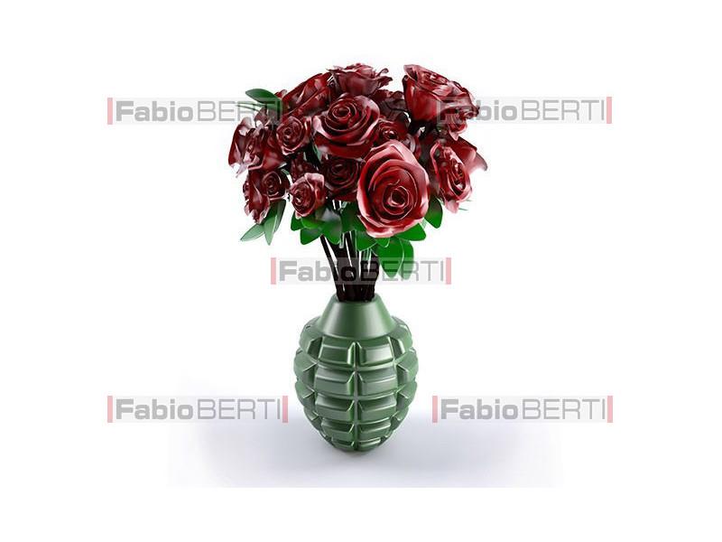 bomba a mano fiore