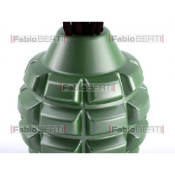 hand grenade with roses