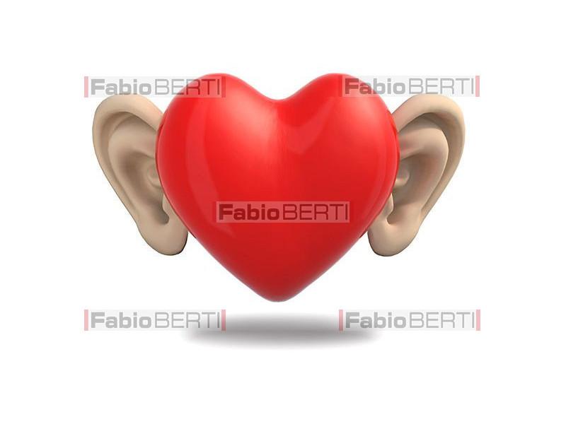 heart with ears