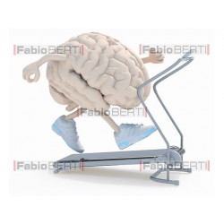 brain on a treadmill
