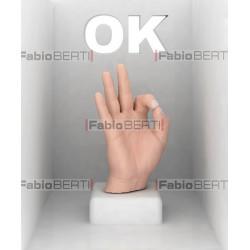 ok hand gesture
