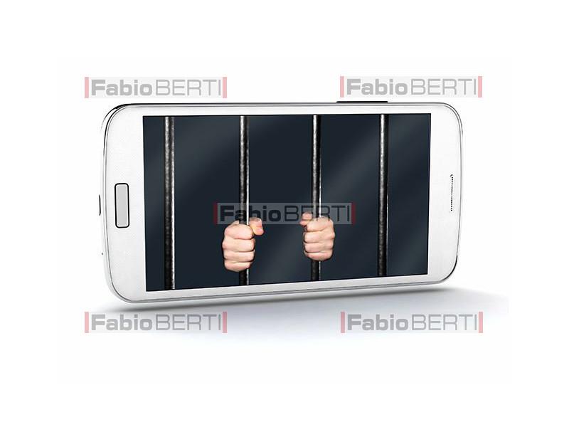 prison in a smartphone