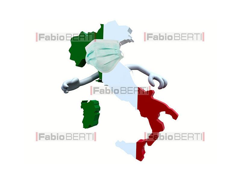 Italia mascherina