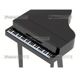 pianoforte con gambe