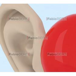cuore con orecchie