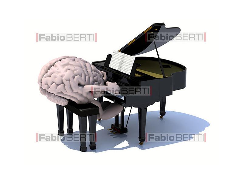 cervello pianista