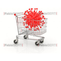 shopping cart coronavirus