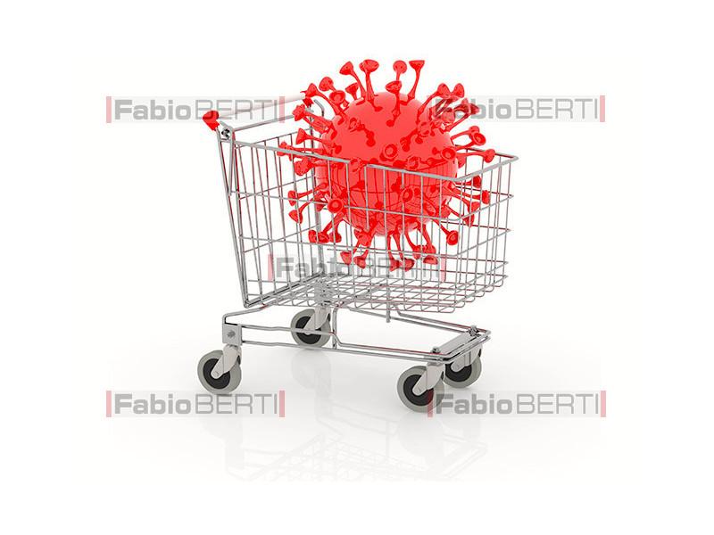 shopping cart coronavirus