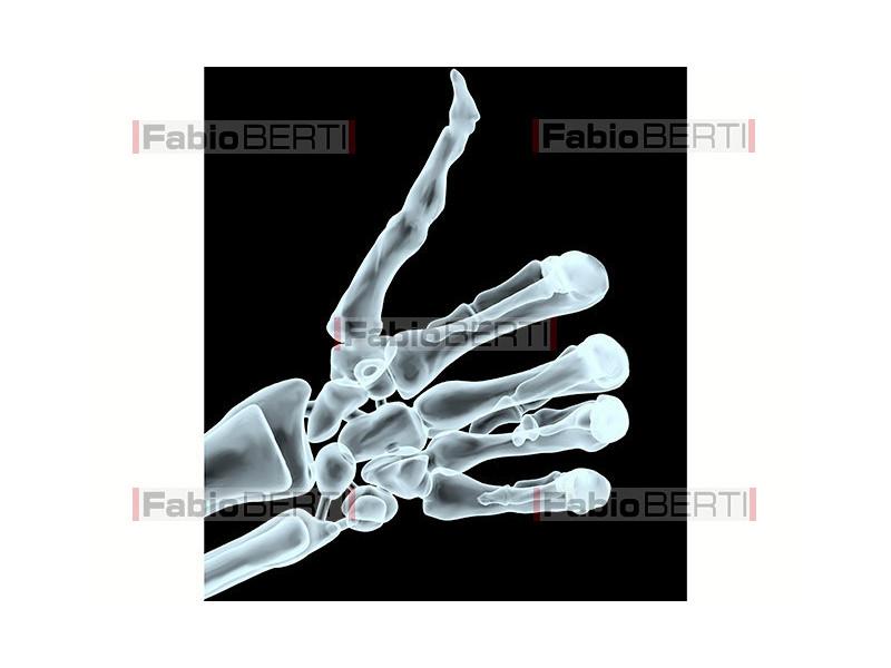 ok gesture X-Ray