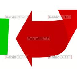 Italy recycling symbol