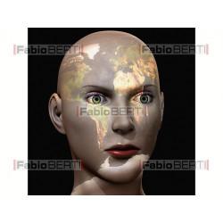world woman face