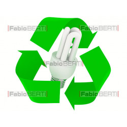 recycling fluorescent bulbs