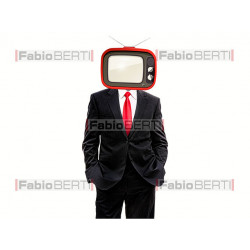 business man television