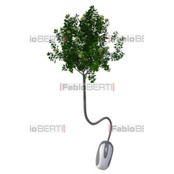 mouse - tree