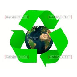 riciclo mondo