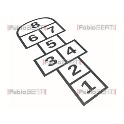 symbol hopscotch game
