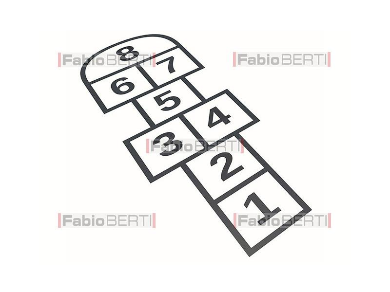 symbol hopscotch game