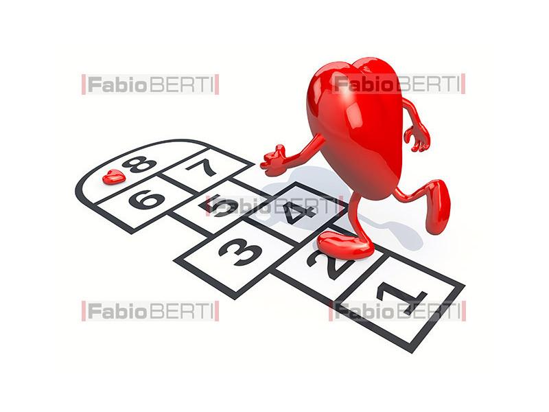 heart play hopscotch