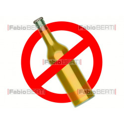 signal to ban beer bottle