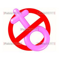 divieto simbolo donna