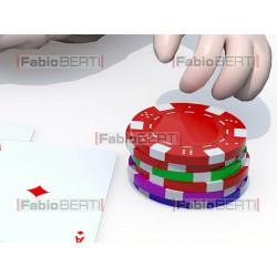 brain playing poker